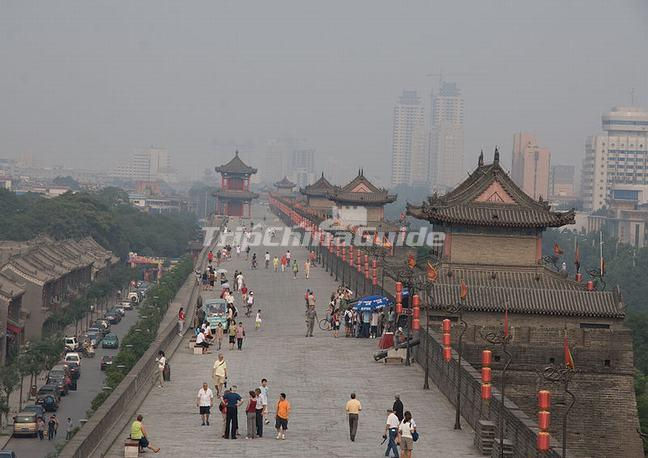 Visit Ancient City Wall Xian