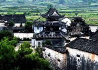 The Huizhou-style Buildings in Huizhou Ancient City