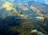 World Cultural Heritage Bada Rice Terraces