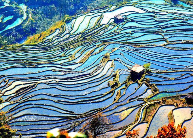 honghe hani rice terraces china
