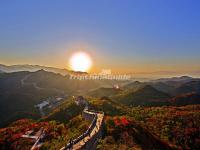 Sunset Over the Badaling Great Wall
