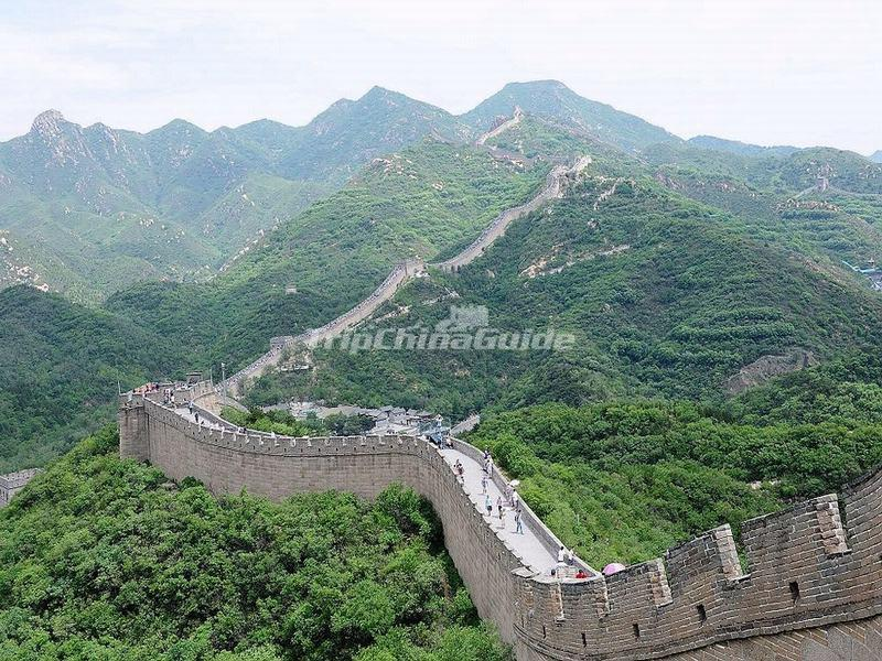 Badaling Great Wall in China