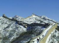 Badaling Great Wall in January
