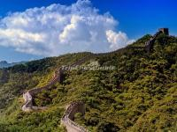Badaling Great Wall in July