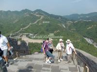 Tourists on Badaling Great Wall