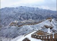 Badaling Great Wall in Winter