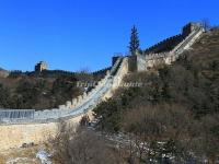 Badaling Great Wall in February
