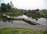 A Pond at Bao Family Garden Huangshan