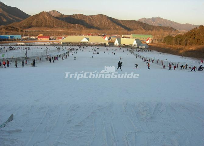 Beijing Snow World Ski Resort China