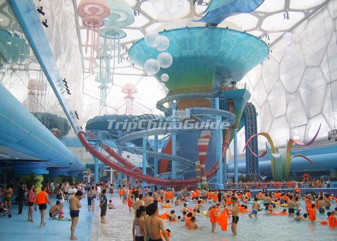 Beijing Watercube Waterpark Beijing National Aquatics