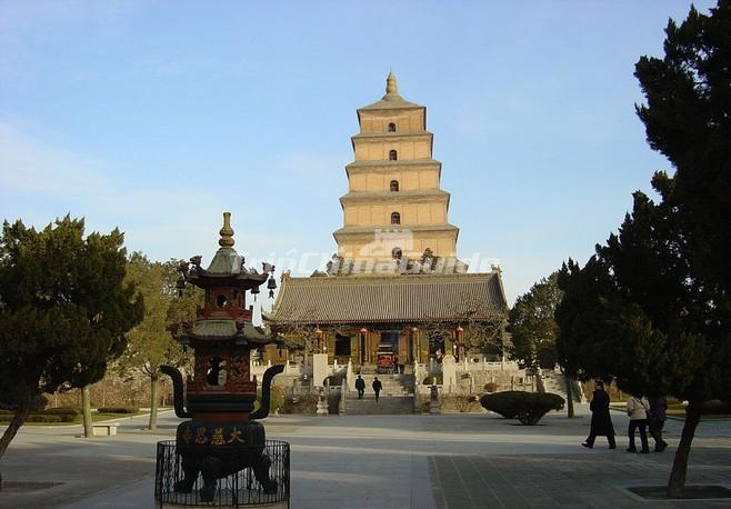 "<a target=""_blank"" href=""http://www.tripchinaguide.com/photo-p60-780-big-wild-goose-pagoda-xian-china.html"">The Big Wild Goose Pagoda in Xian</a>"