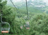 Cable Car in Dali Cangshan Mountain