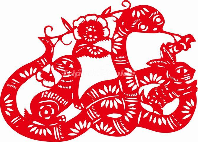 Chinese paper cutting flowers chinese paper cutting chinese paper chinese paper cutting snake mightylinksfo