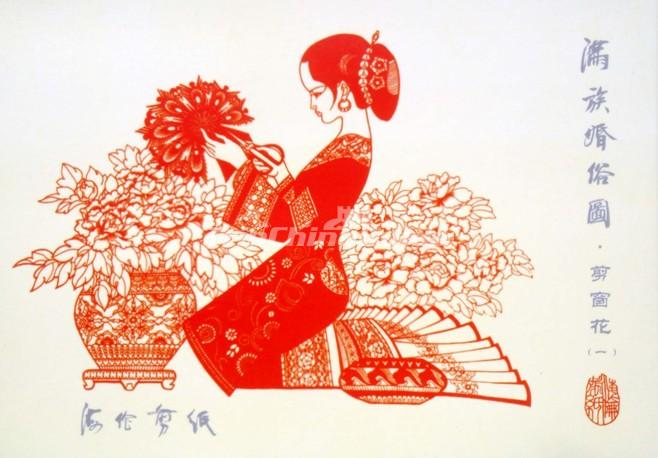 Chinese paper cutting girl chinese paper cutting chinese paper chinese paper cutting girl mightylinksfo