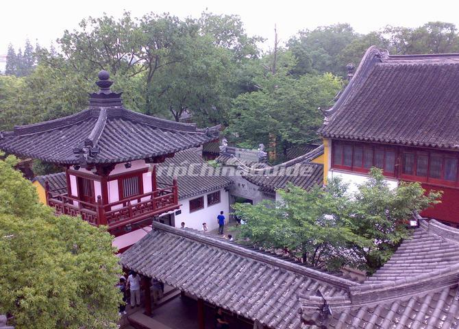 Building at Hanshan Temple Suzhou