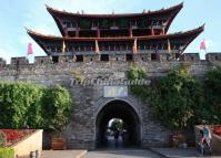 The City Gate of Dali Ancient City, Yunnan, China