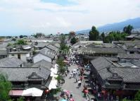 A Bird's Eye View of Dali Ancient City