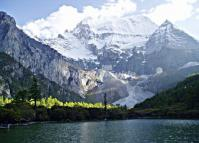 The Pearl Lake in Daocheng Yading in Summer
