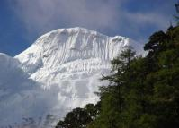 The Beautiful Chanadorje Peak in Yading Nature Reserve