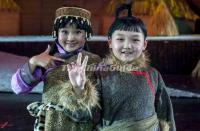Daur Ethnic Children