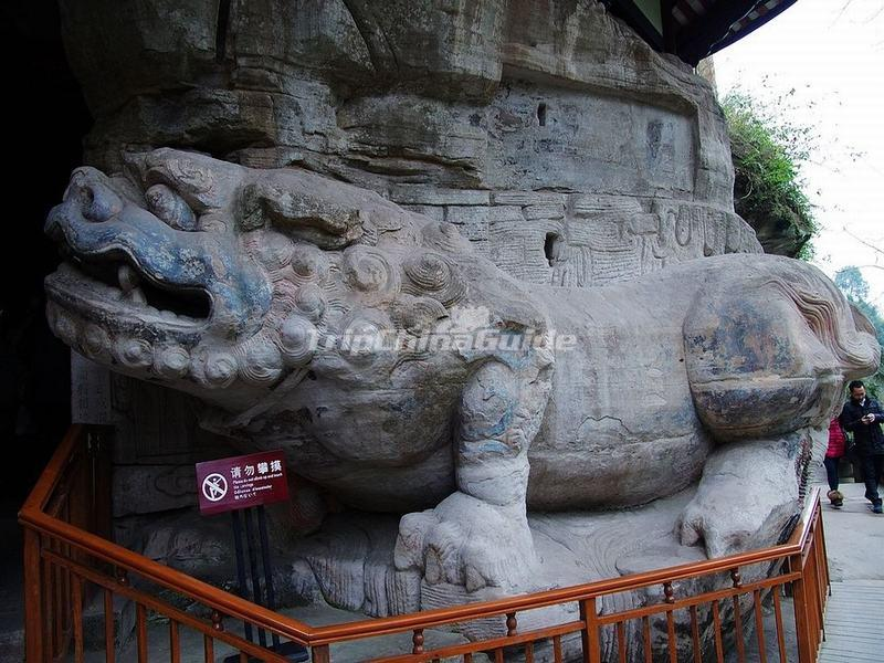 Dazu rock carvings photos