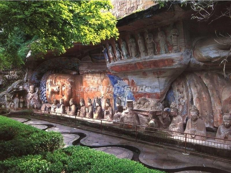Dazu rock carvings chongqing photos