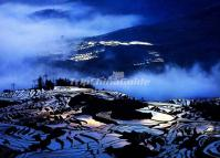 Duoyishu Rice Terraces in the Mist