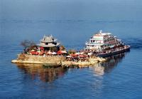 Landscape Scenery of Erhai Lake in China's Yunnan Province