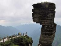 A Unique Rock in Guizhou Fanjing Mountain