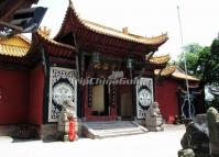 The Liaoyang Temple in Fengdu Ghost City