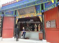 The Temple of Gods of Wealth in Fengdu Ghost City