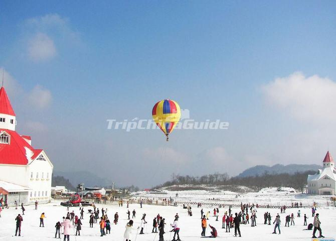 Chengdu Xiling Snow Mountain International South China Ice and Snow Festival