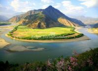 First Bend of the Yangtze River