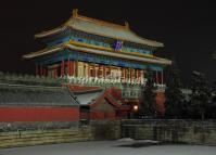 Beijing Forbidden City in the Evening
