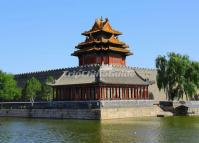 Building of the Forbidden City - Watchtower (Corner Tower)