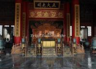 Hall of Heavenly Purity (Qianqing gong) Interior