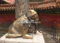 The Brass Elephant in the Imperial Garden
