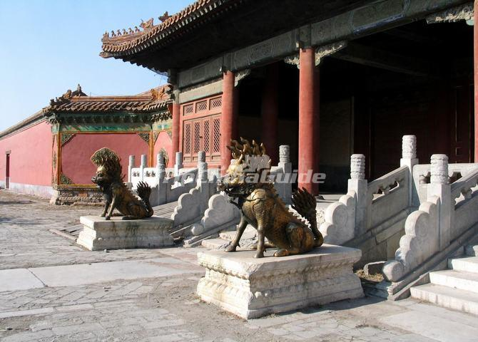 The Kylins in Beijing Forbidden City