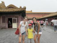 A Souvenir Photo in Forbidden City