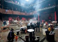 Prepare a Wedding Banquet in a Hekeng Tulou