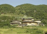 Tianluokeng Tulou Cluster in Nanjing County, Fujian, China