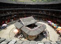 Inside an Earth Building in Hekeng Village, Nanjing, Fujian