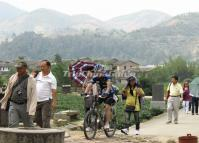 Cycling to See the Dadi Tulou Cluster