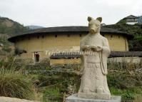 Chuxi Fujian Earth Building China