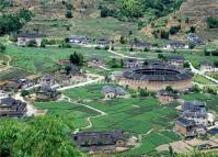 Hakka Earth Buildings in Hua'an County