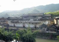 Fujian China Hakka Earth Buildings