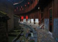 Interior Scene of a Nanxi Hakka Earth House