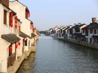 China Grand Canal in Wuxi