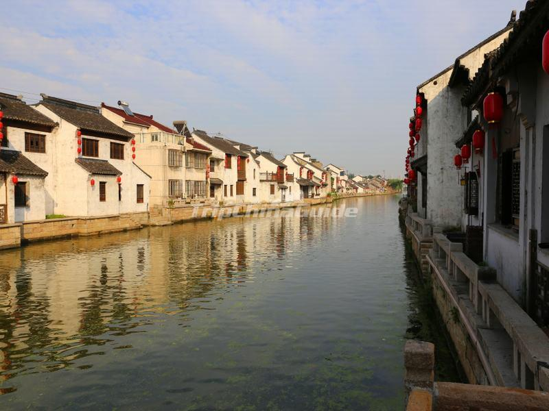 The Grand Canal Section in Wuxi City, Jiangsu Province