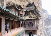 Hanging Temple in Mount Hengshan China